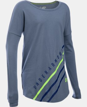 Girls' UA Dazzle Long Sleeve LIMITED TIME: FREE U.S. SHIPPING 1 Color $20.24