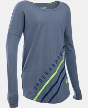 Girls' UA Dazzle Long Sleeve   $34.99