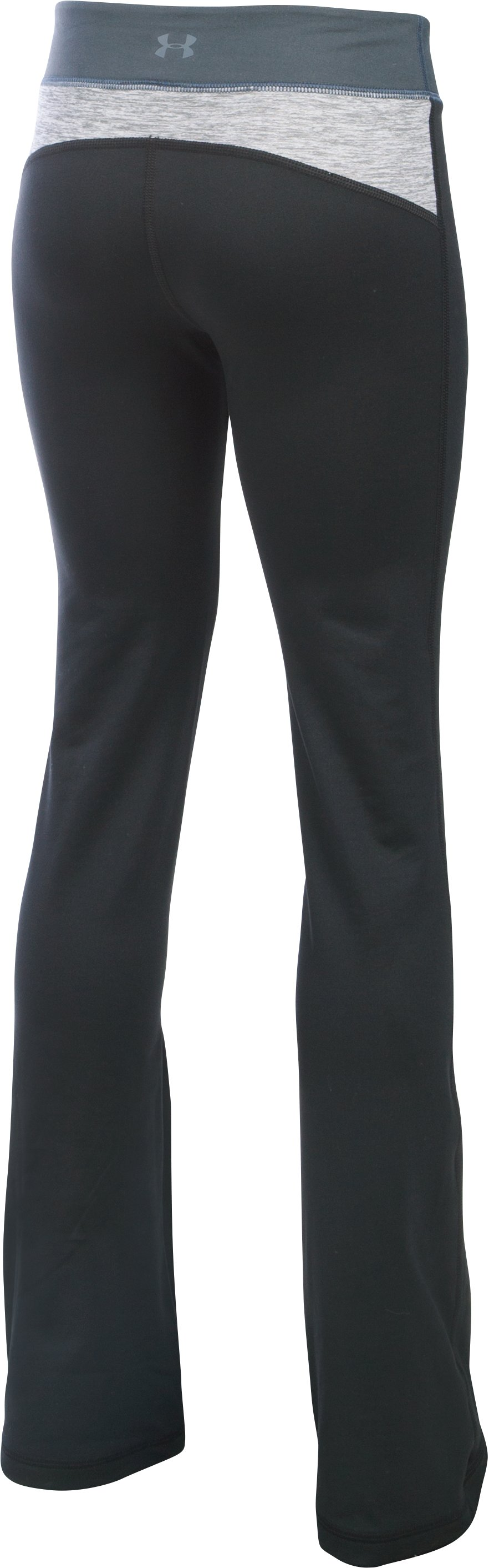 Girls' UA Finale Studio Pants, Black