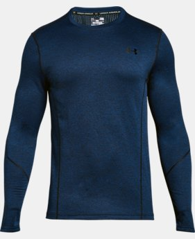 Men's UA ColdGear® Infrared Grid Long Sleeve Fitted Shirt  1 Color $48.99