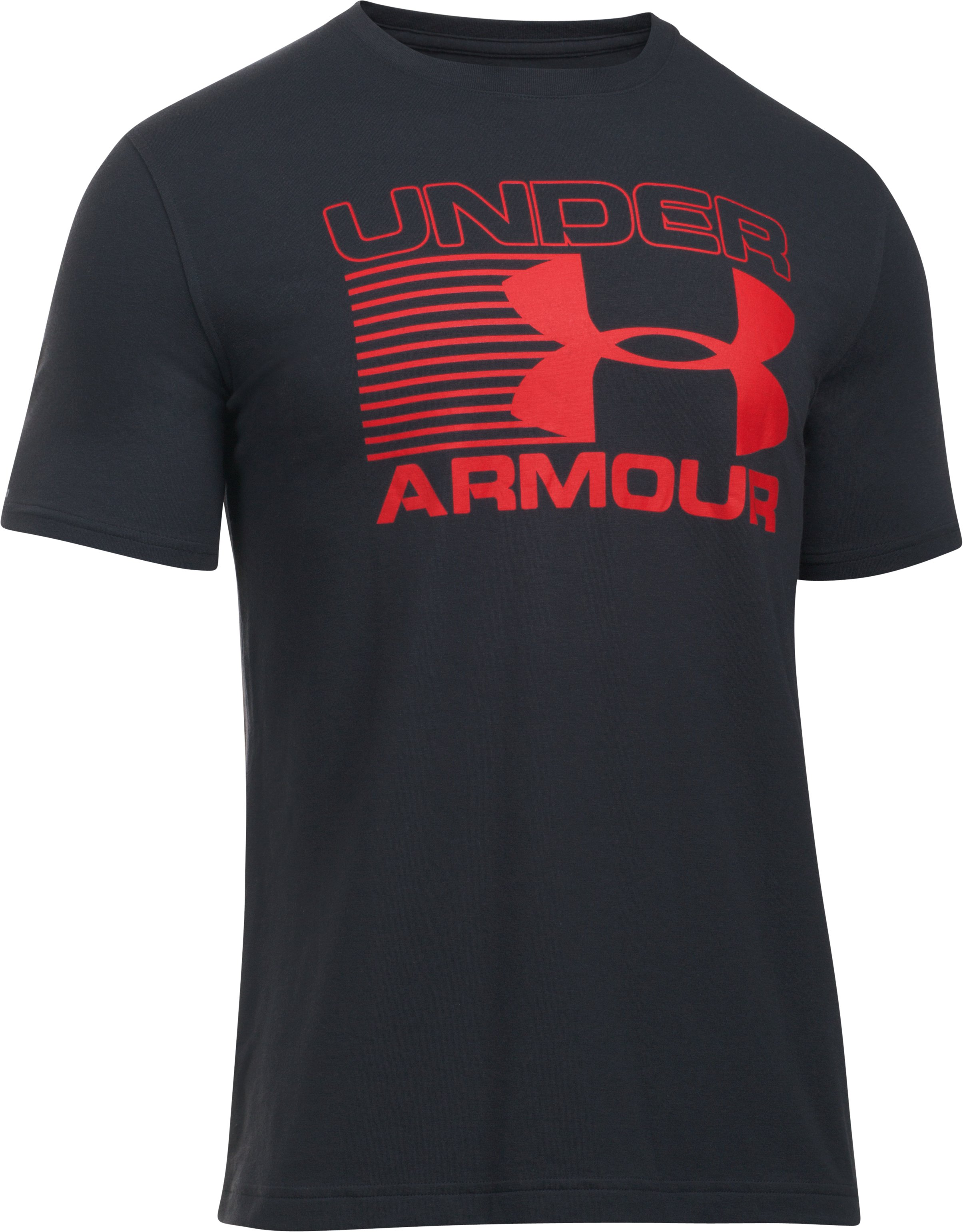 Men's UA Blitz Logo T-Shirt , Black , undefined