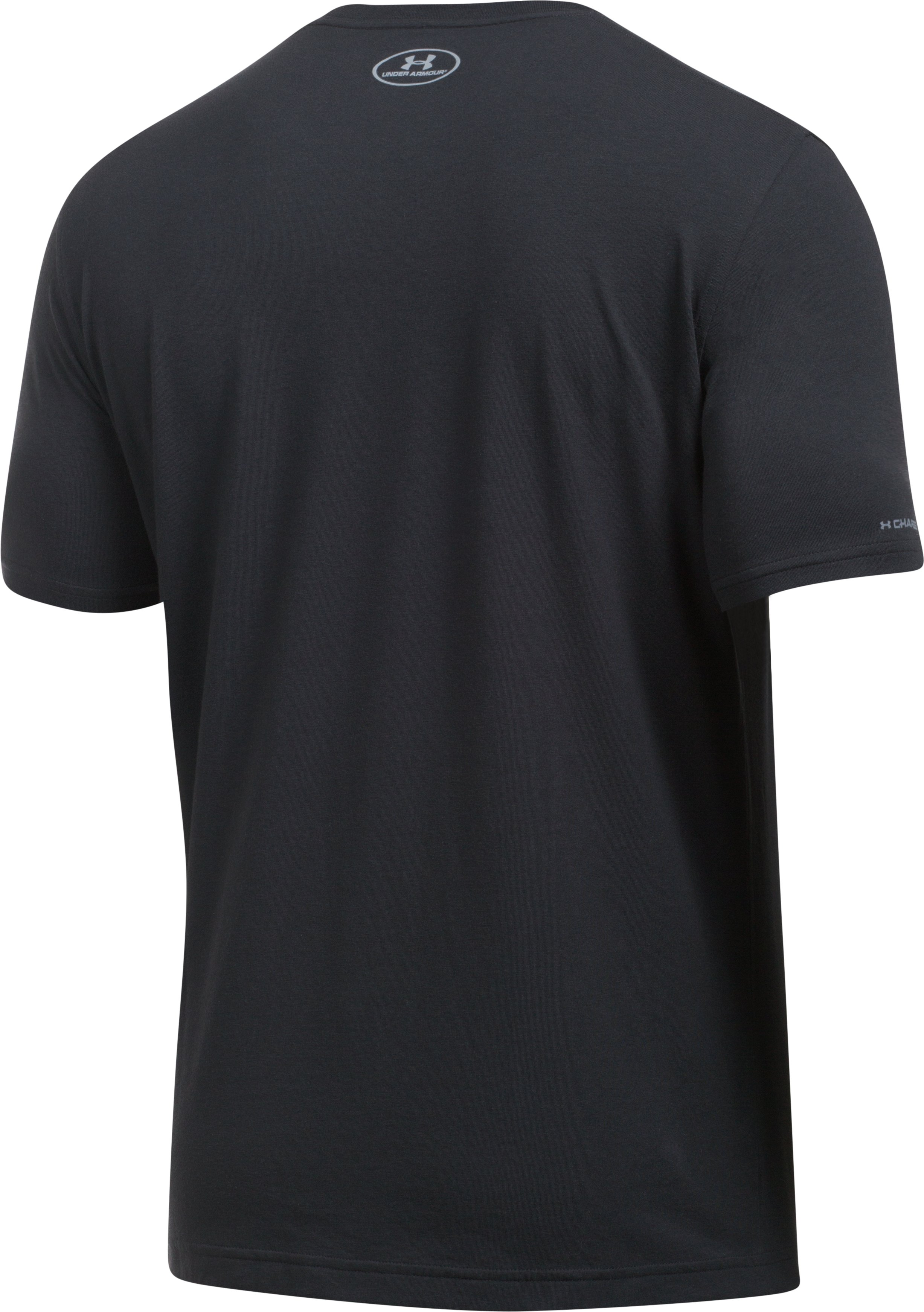 Men's UA Blitz Logo T-Shirt , Black ,