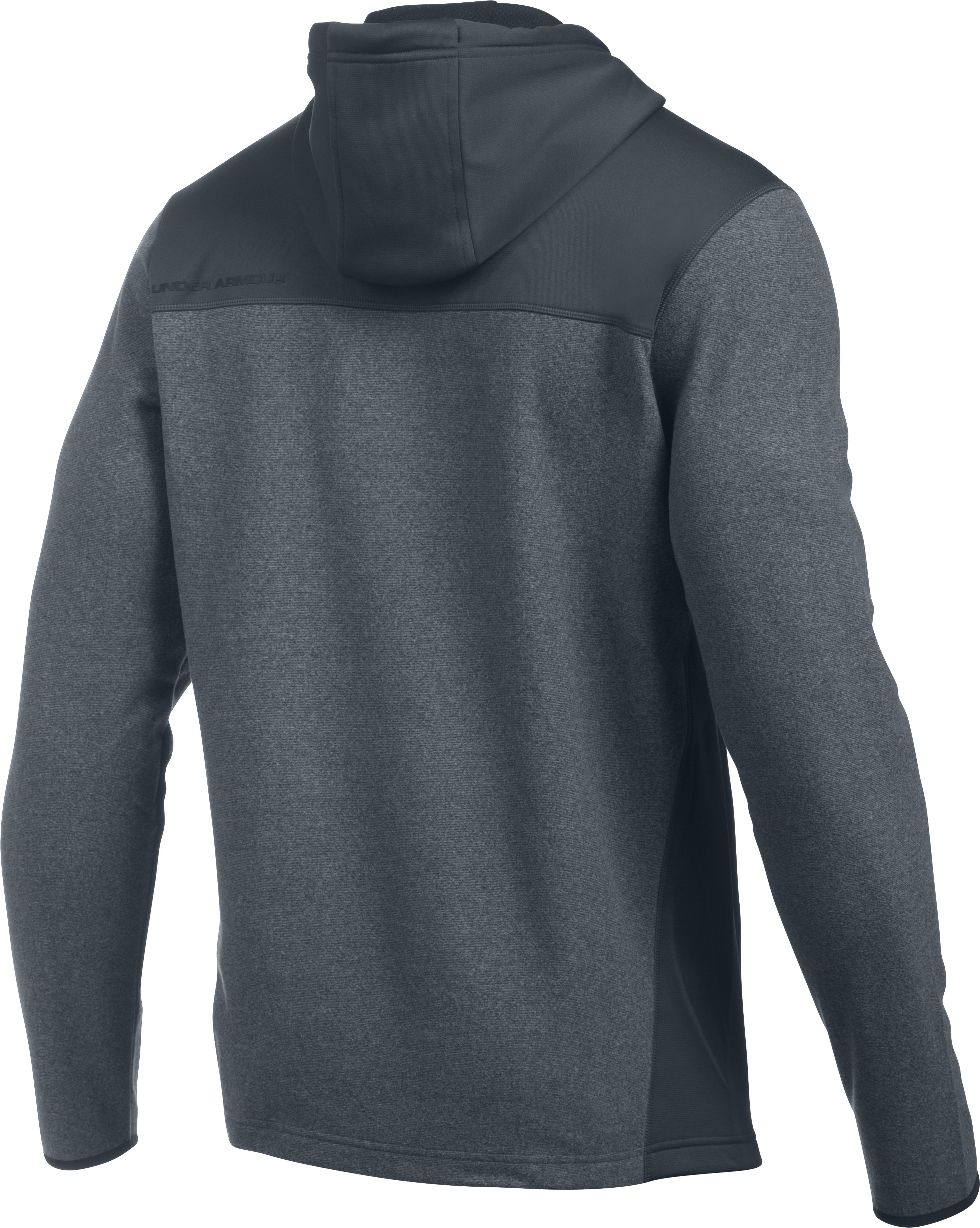 Men's UA ColdGear Infrared® Fleece Hoodie, STEALTH GRAY, undefined
