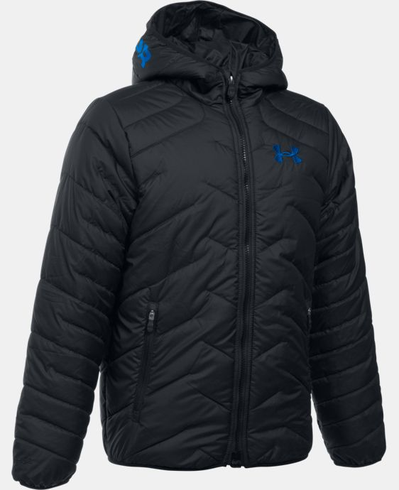 Boys' UA ColdGear® Reactor Hooded Jacket LIMITED TIME: FREE SHIPPING 1 Color $144.99