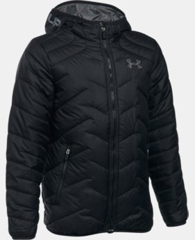 Boys' ColdGear® Reactor Hooded Jacket  1  Color Available $94.74