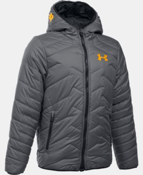 Boys' UA ColdGear® Reactor Hooded Jacket LIMITED TIME: FREE SHIPPING 4 Colors $144.99