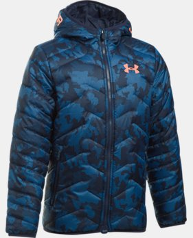 Boys' ColdGear® Reactor Hooded Jacket  3 Colors $94.74