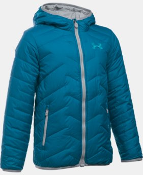Boys' UA ColdGear® Reactor Hooded Jacket  1 Color $144.99