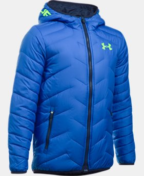 Boys' ColdGear® Reactor Hooded Jacket  2 Colors $94.74