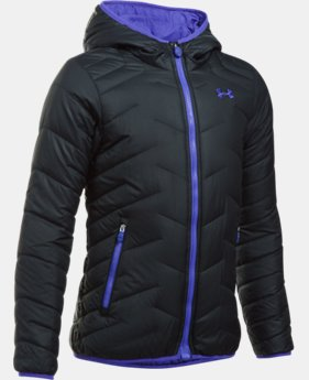 Girls' ColdGear® Reactor Hooded Jacket  1 Color $93.74 to $93.99