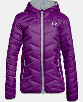 Girls' ColdGear® Reactor Hooded Jacket  2 Colors $93.74 to $93.99