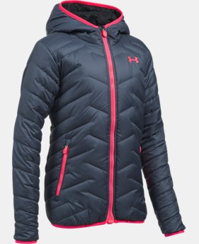 Best Seller Girls' ColdGear® Reactor Hooded Jacket  1 Color $124.99