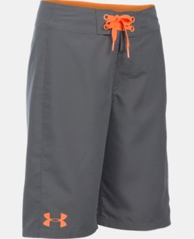 Boys' UA Hiit Boardshorts LIMITED TIME: FREE SHIPPING 1 Color $29.99