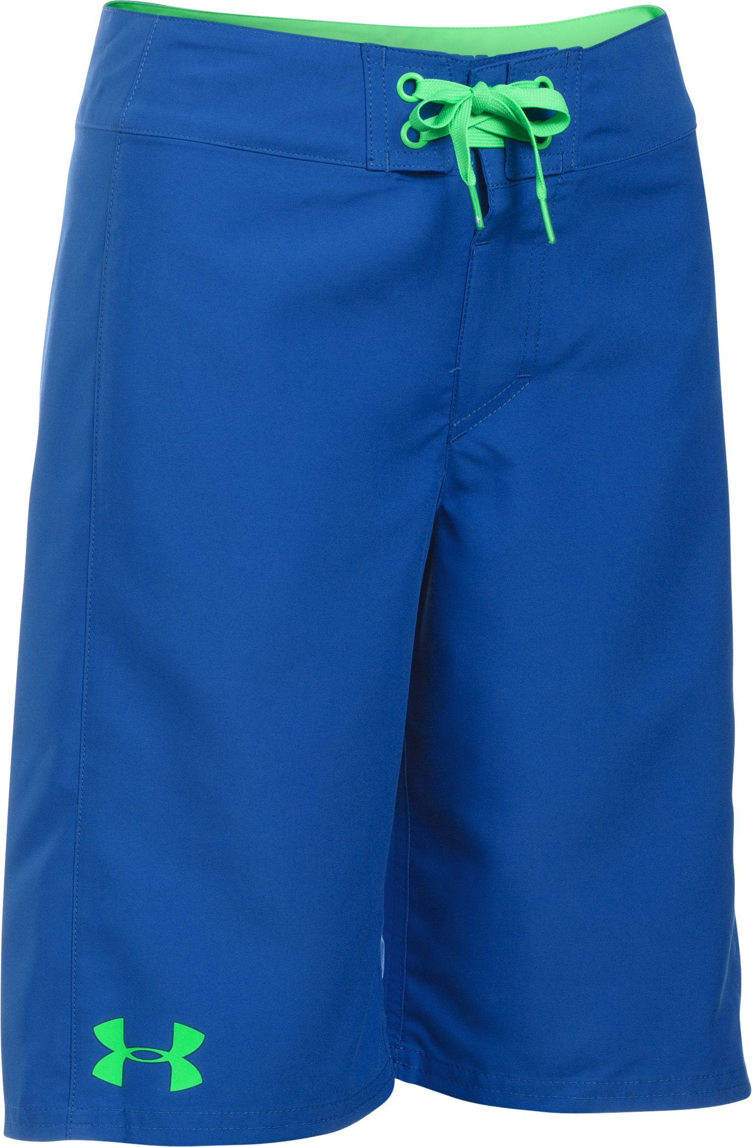 Boys' UA Hiit Boardshorts, ULTRA BLUE