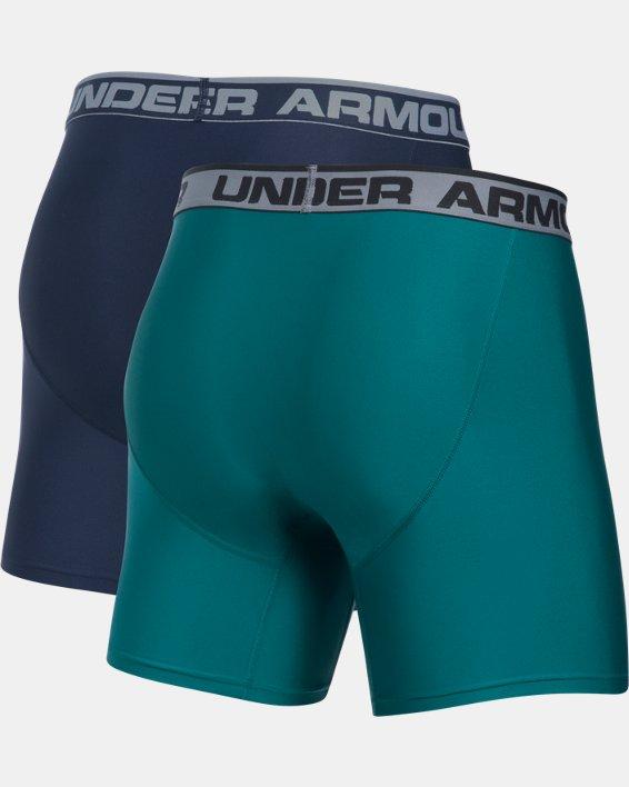 "Men's UA Original Series 6"" Boxerjock® - 2-Pack, Navy, pdpMainDesktop image number 6"