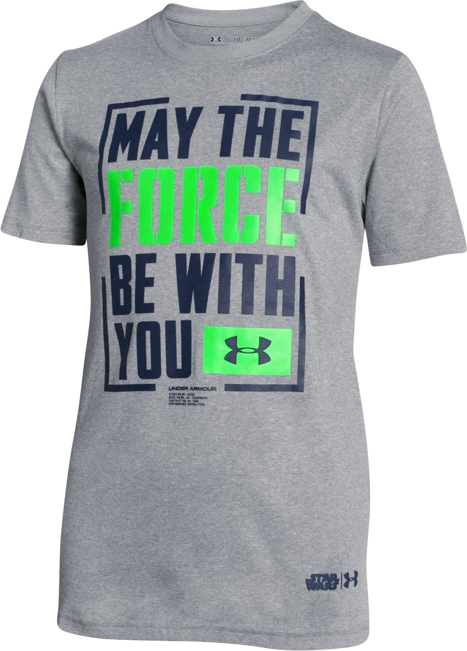 Boys' Under Armour® Alter Ego The Force T-Shirt, True Gray Heather