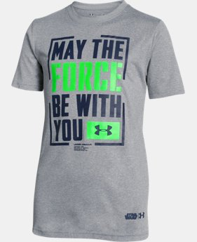 New Arrival Boys' Under Armour® Alter Ego The Force T-Shirt LIMITED TIME: FREE SHIPPING 1 Color $29.99