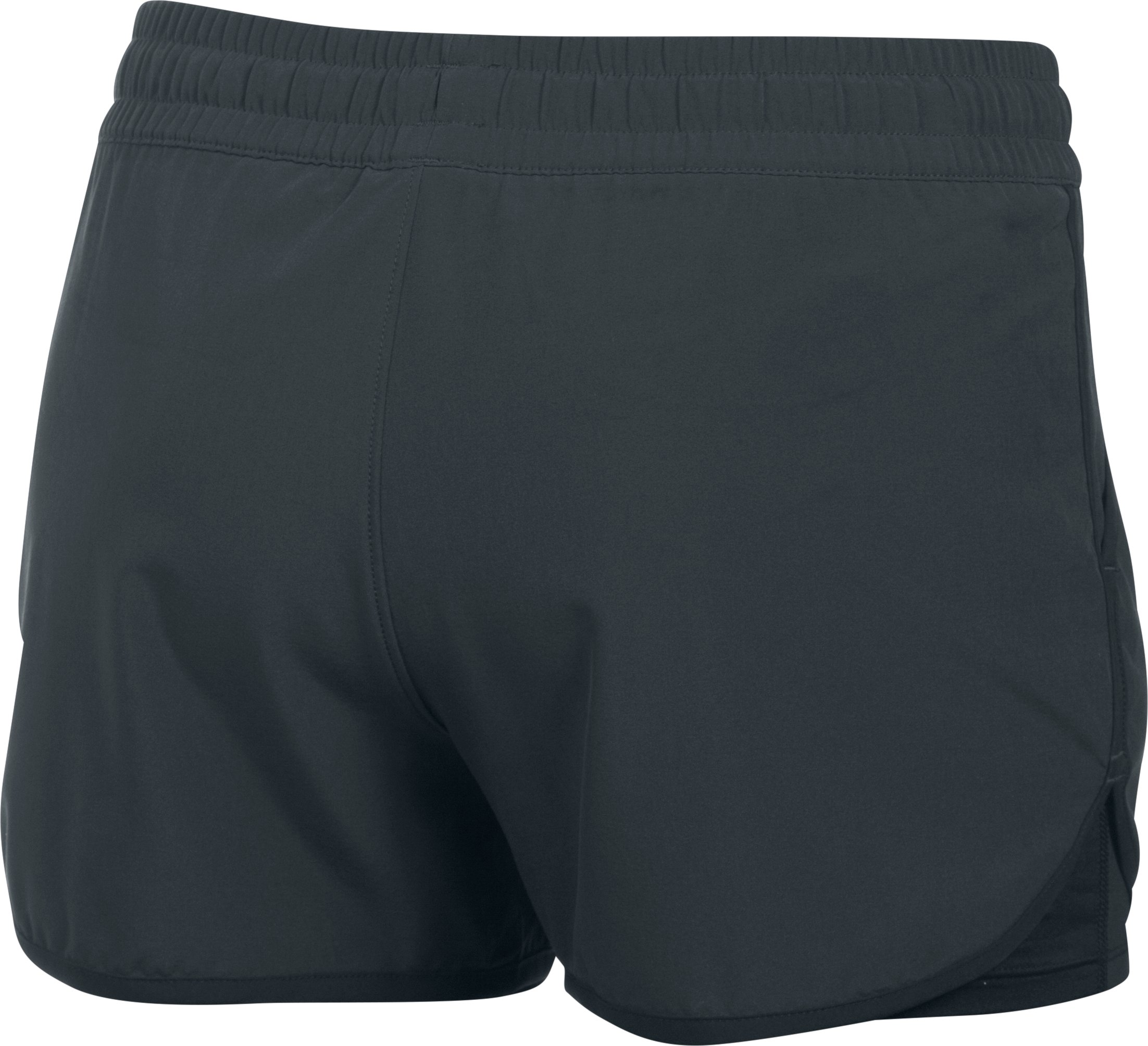 Women's UA 2X Rally Shorts, ANTHRACITE,