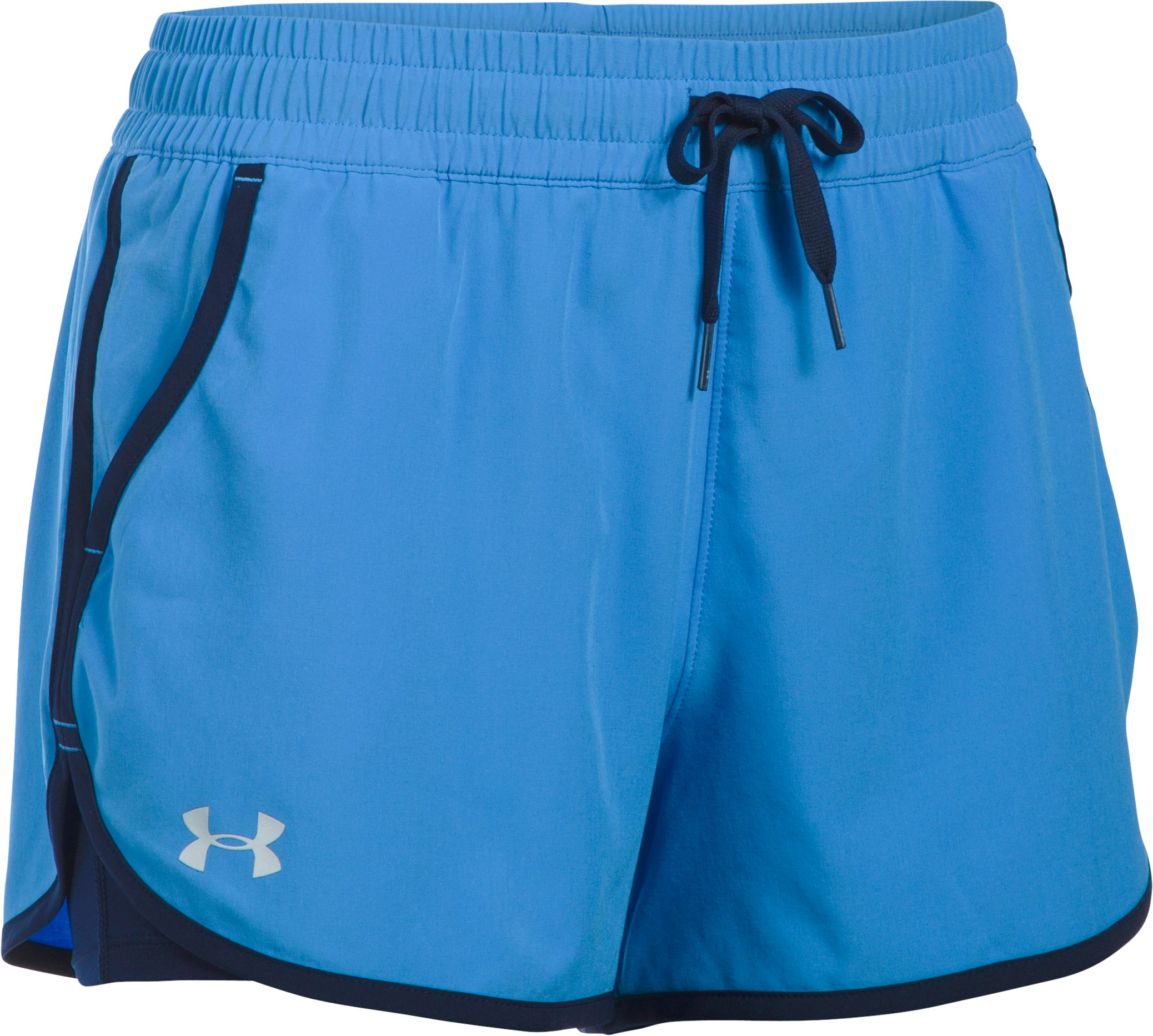 Women's UA 2X Rally Shorts, Water