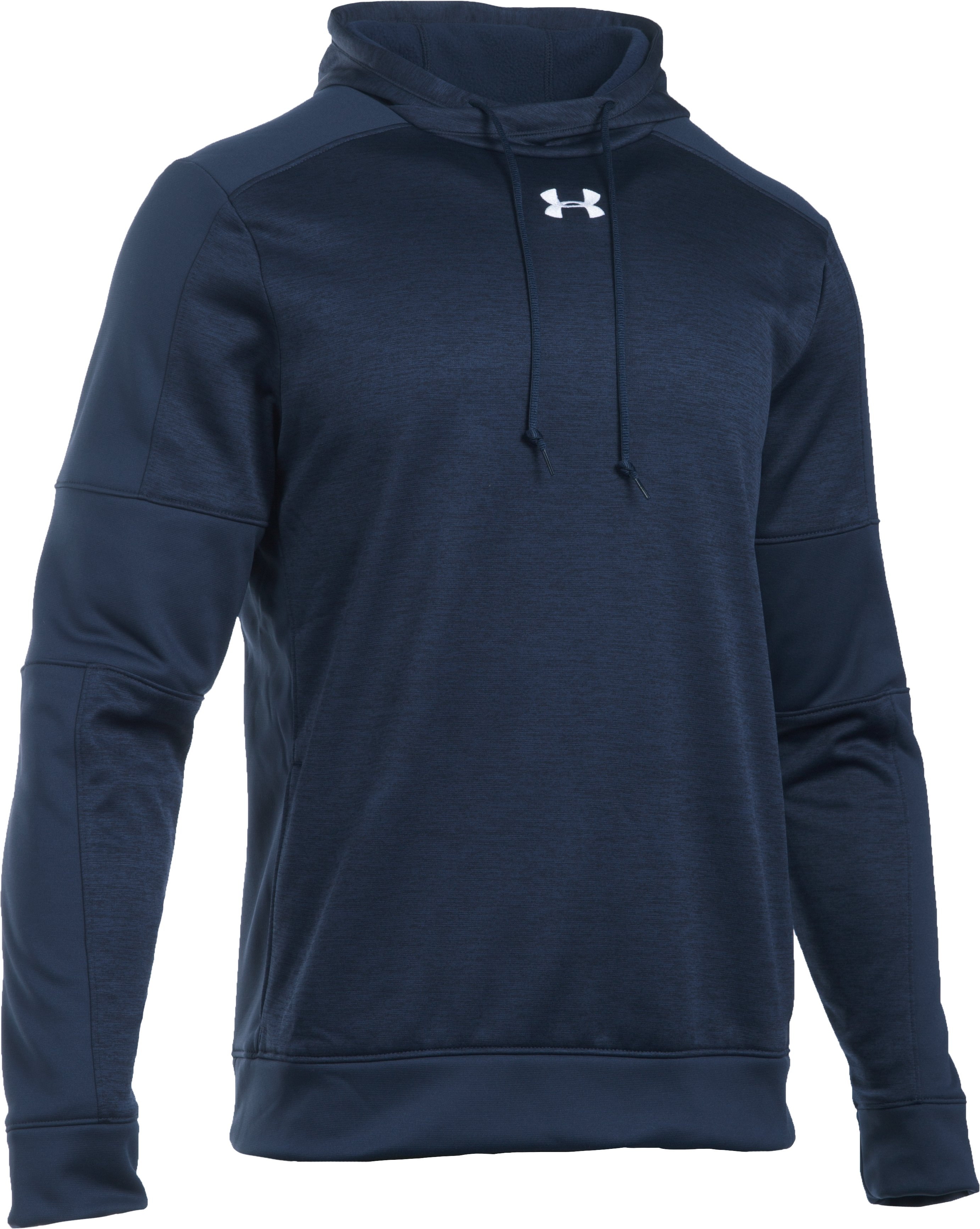 Men's UA Storm Armour® Fleece Hoodie, Midnight Navy, undefined