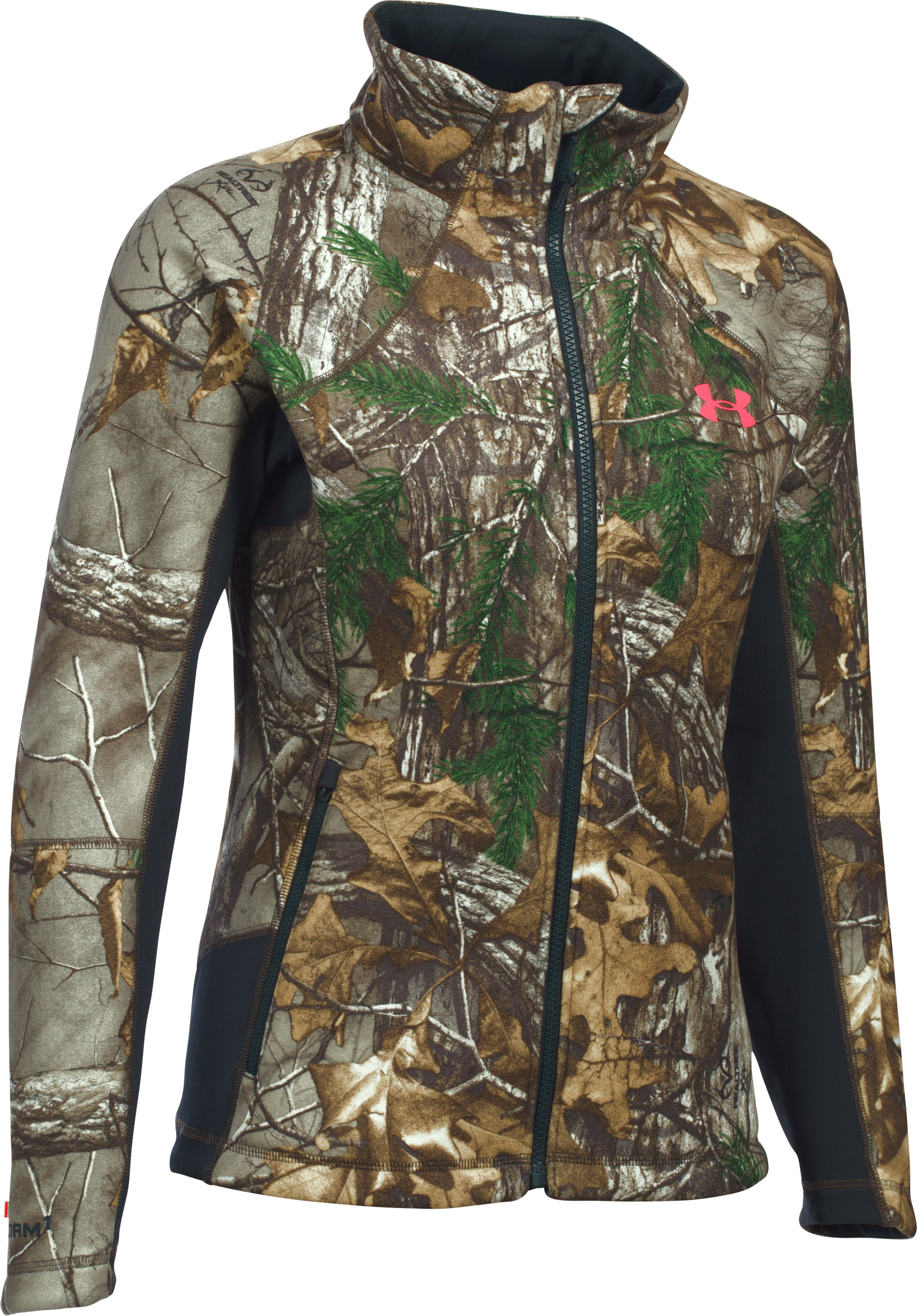 Women's UA Stealth Jacket, REALTREE AP-XTRA