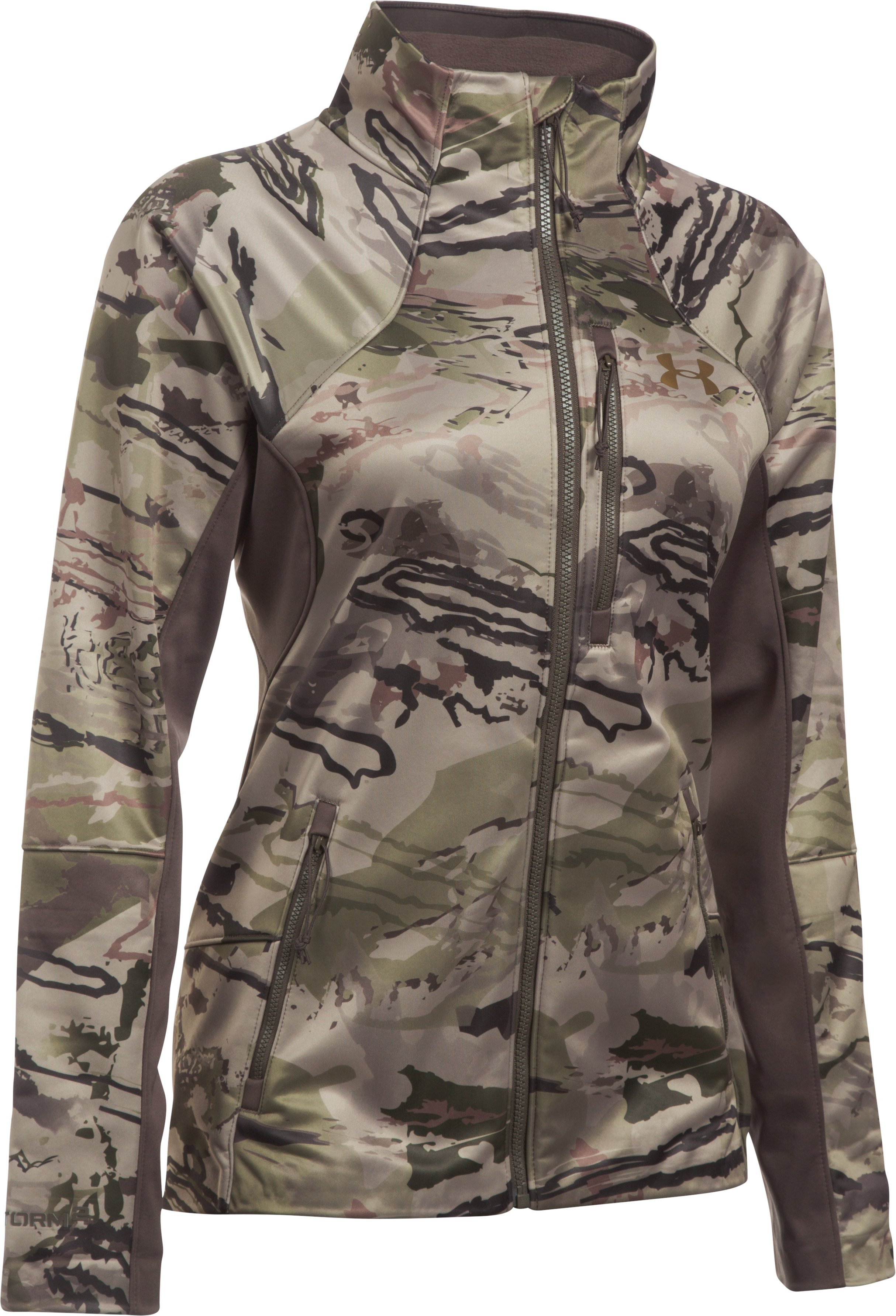 Women's UA Chase Jacket, RIDGE REAPER® BARREN