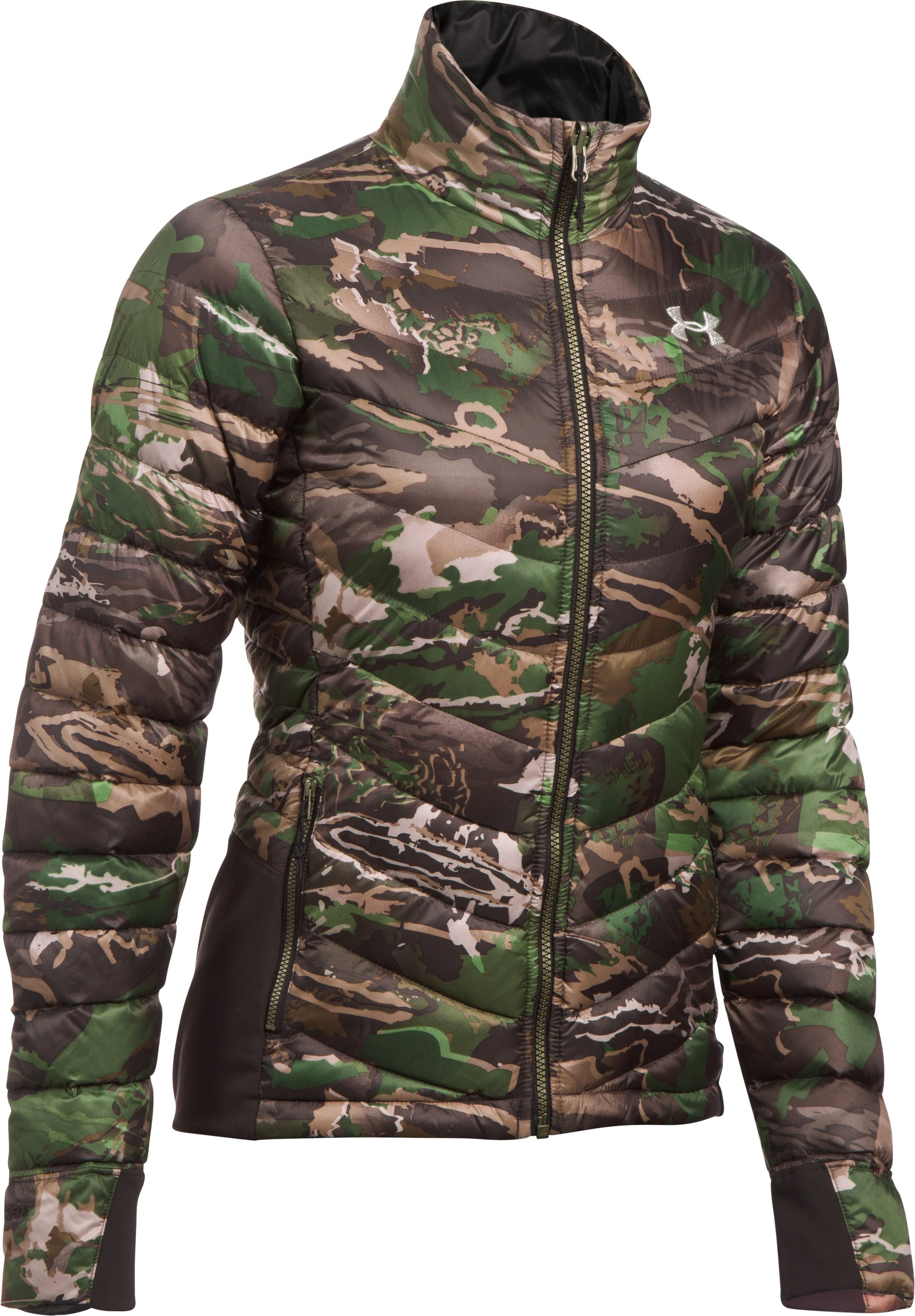 Women's UA Extreme Reversible Jacket, RIDGE REAPER® FOREST, undefined