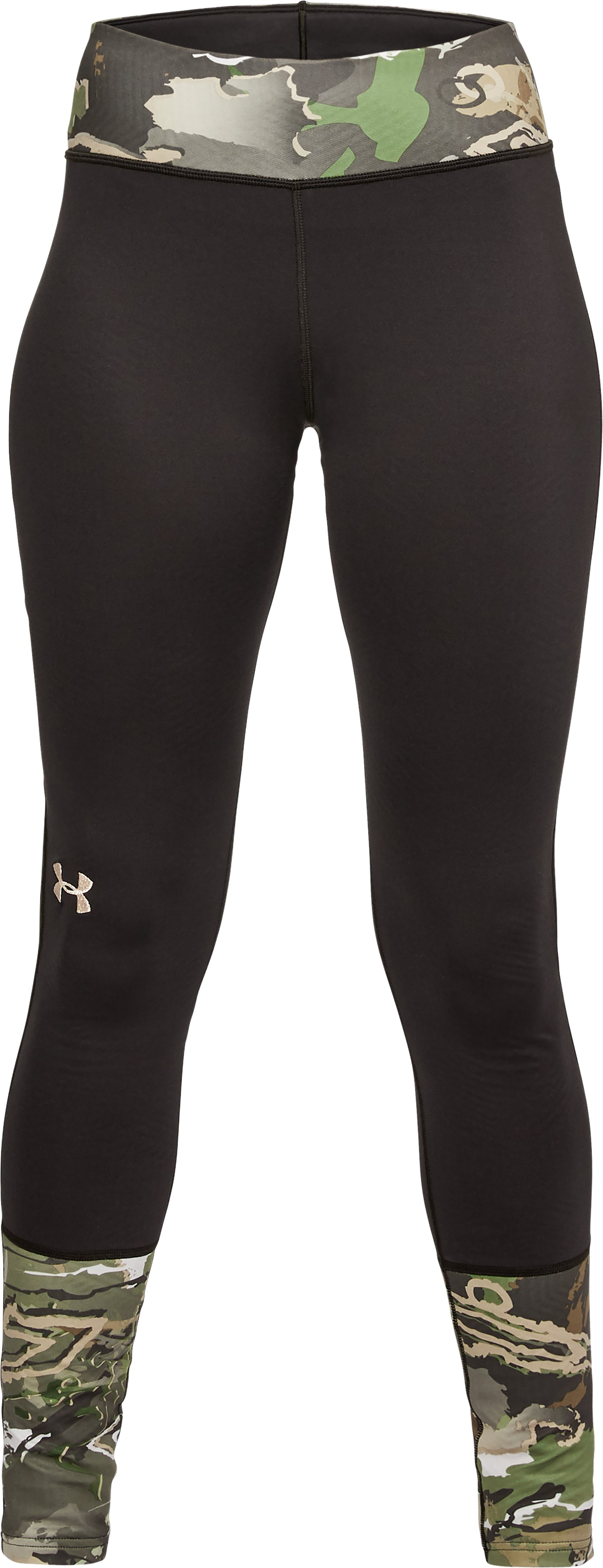 Women's UA Tevo Leggings, RIDGE REAPER® FOREST,