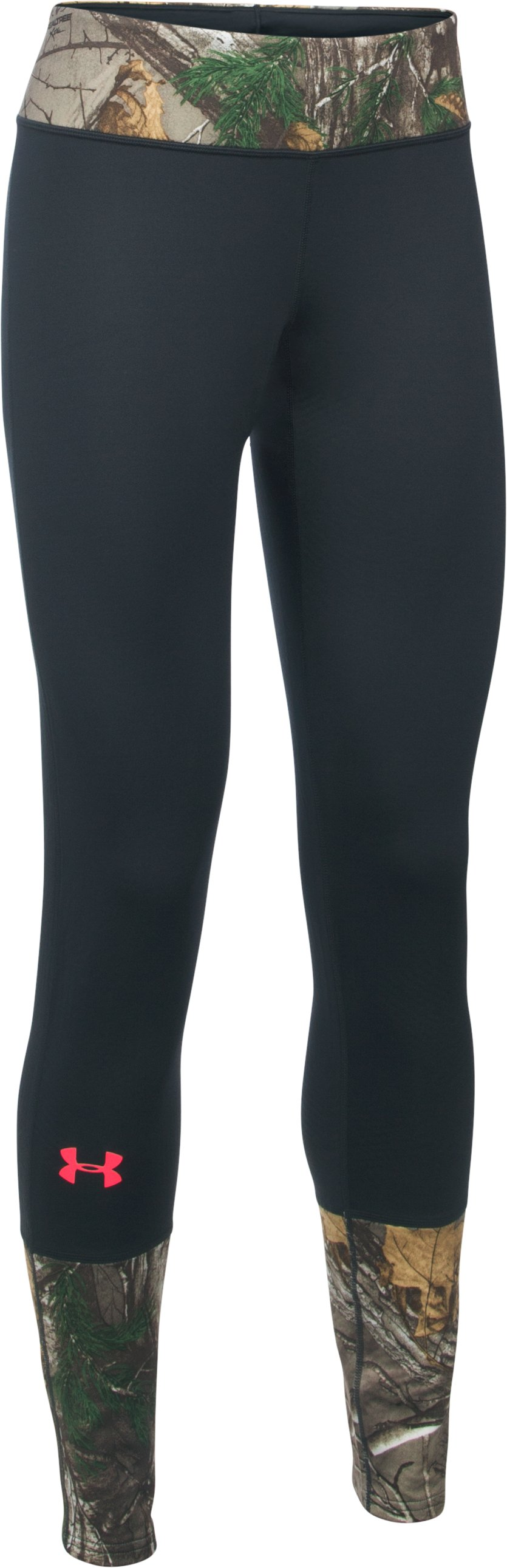 Women's UA Tevo Leggings, REALTREE AP-XTRA, undefined