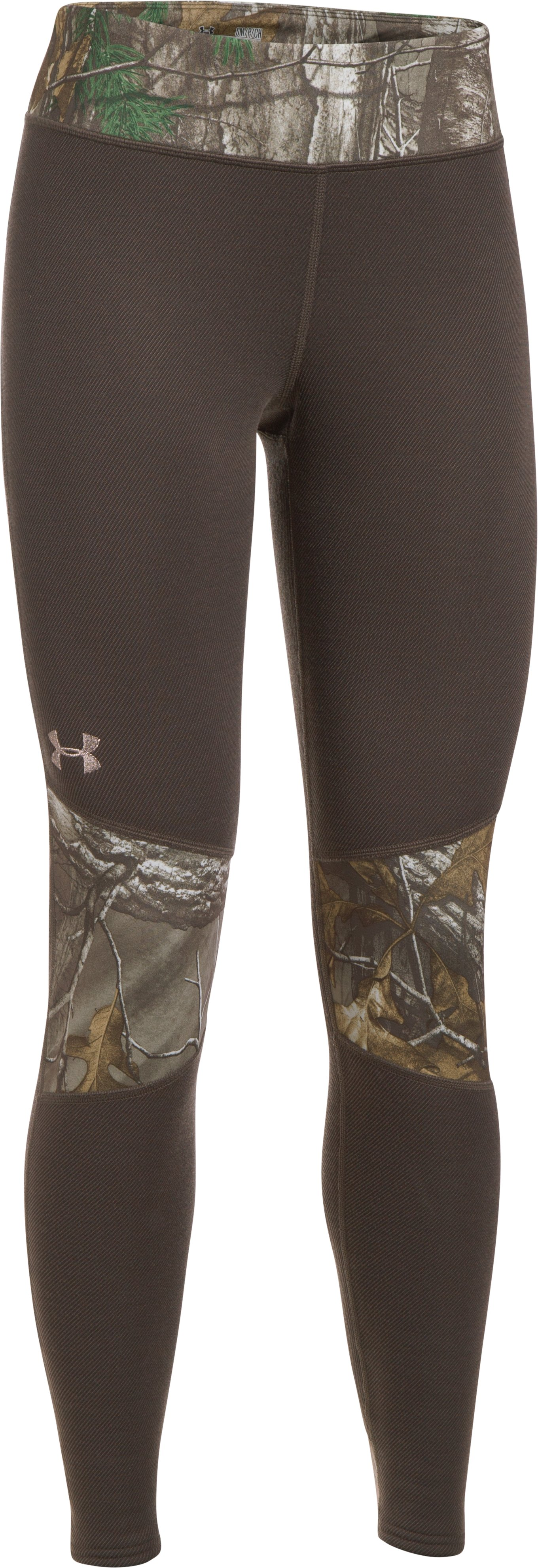 Women's UA Extreme Base Leggings, MAVERICK BROWN,