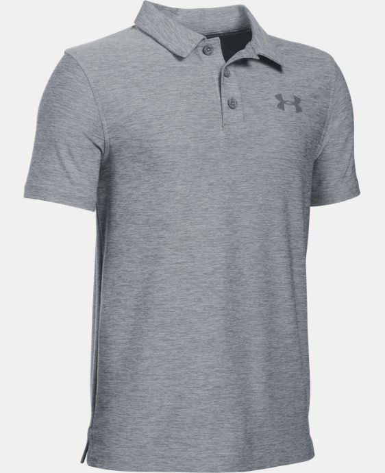 Boys' UA Playoff Polo LIMITED TIME: FREE U.S. SHIPPING 4 Colors $29.99 to $39.99