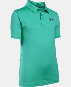 Boys' UA Playoff Polo  7 Colors $29.99