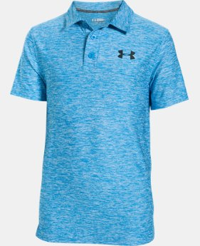 Boys' UA Playoff Polo  3 Colors $44.99