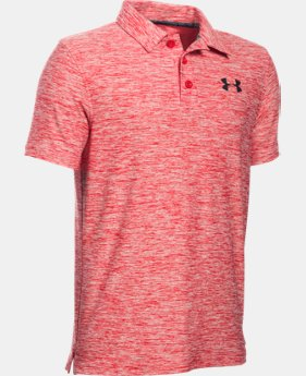 Best Seller Boys' UA Playoff Polo  4 Colors $39.99