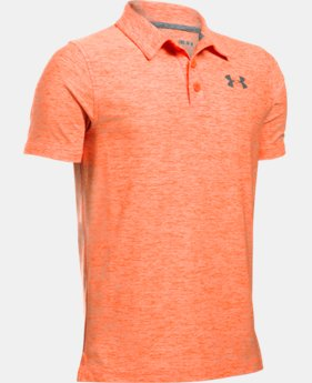 Best Seller Boys' UA Playoff Polo  3 Colors $39.99