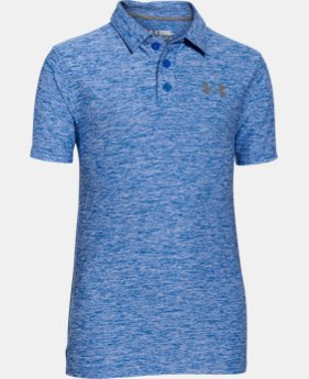 Boys' UA Playoff Polo  3 Colors $29.99