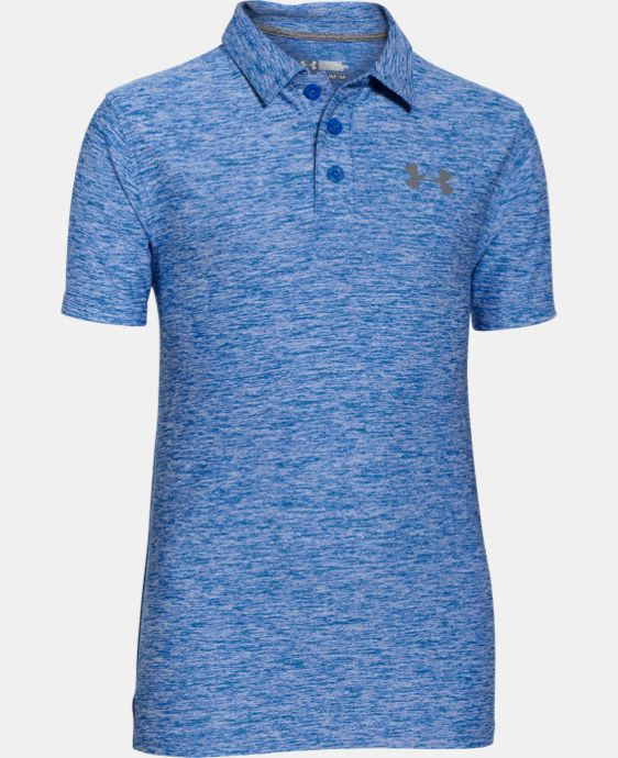 Boys' UA Playoff Polo LIMITED TIME: FREE SHIPPING 3 Colors $33.99