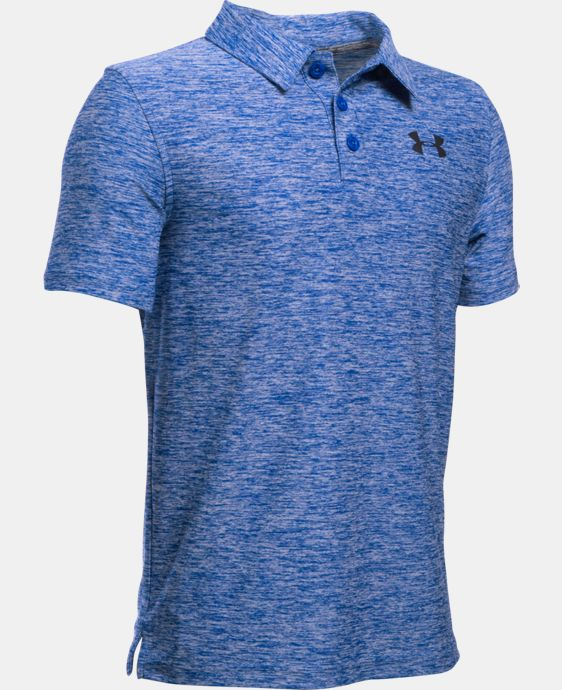 Boys' UA Playoff Polo LIMITED TIME: FREE SHIPPING 1 Color $33.99 to $44.99