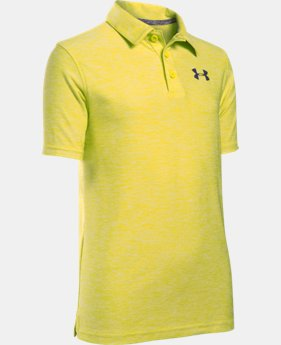 Boys' UA Playoff Polo LIMITED TIME: FREE U.S. SHIPPING 1 Color $22.49 to $29.99