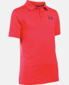 Boys' UA Playoff Polo LIMITED TIME: FREE SHIPPING 1 Color $33.99