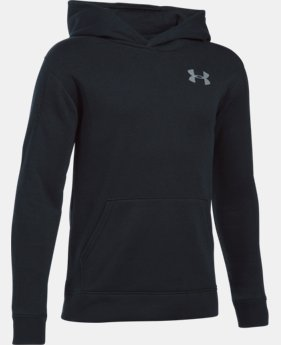 New Arrival  Boys' UA Sportstyle Fleece Wordmark Hoodie  LIMITED TIME: FREE SHIPPING 1 Color $48.99