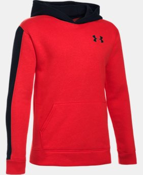 Boys' UA Sportstyle Fleece Wordmark Hoodie   1 Color $23.62 to $25.49