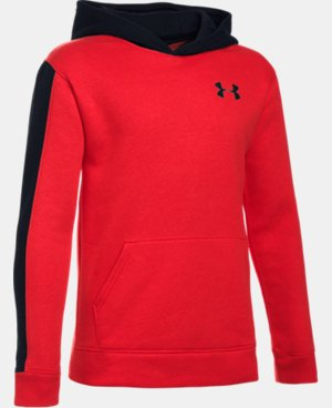 Boys' UA Sportstyle Fleece Wordmark Hoodie  LIMITED TIME: FREE SHIPPING  $48.99