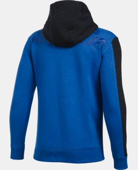 Boys' UA Sportstyle Fleece Wordmark Hoodie  LIMITED TIME: FREE U.S. SHIPPING  $31.49 to $41.99