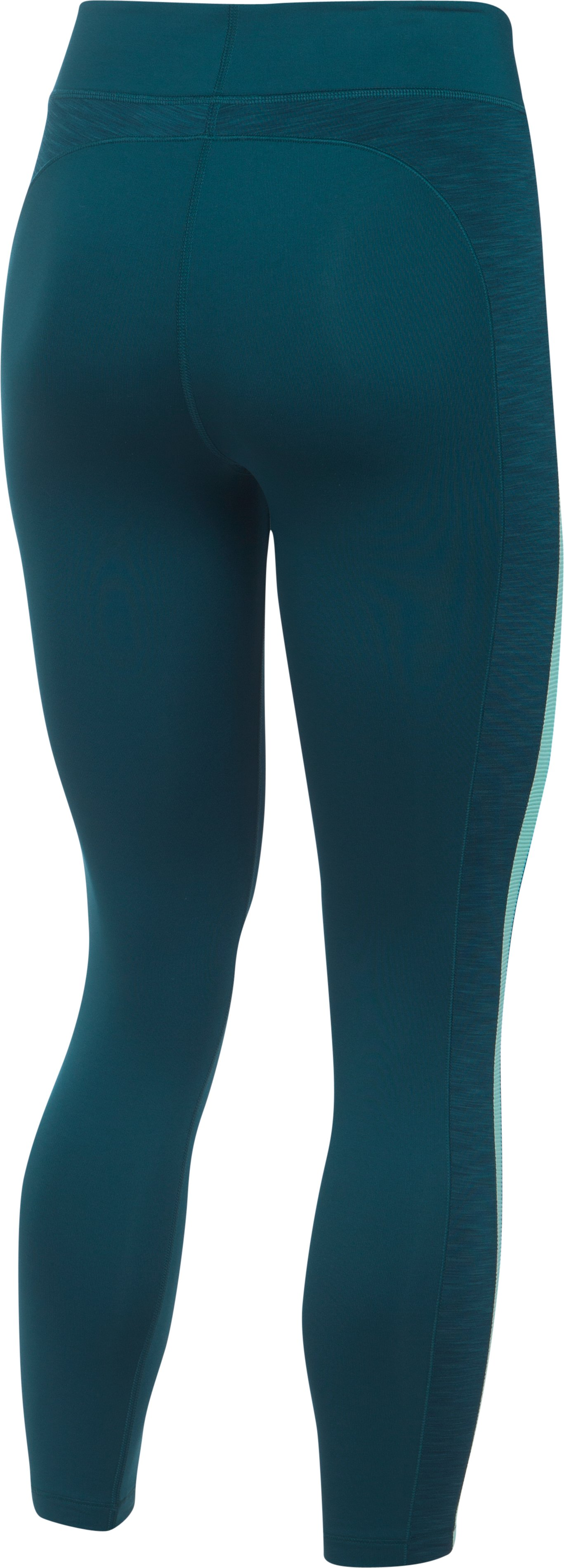 Women's UA ColdGear® 7/8 Leggings, NOVA TEAL,