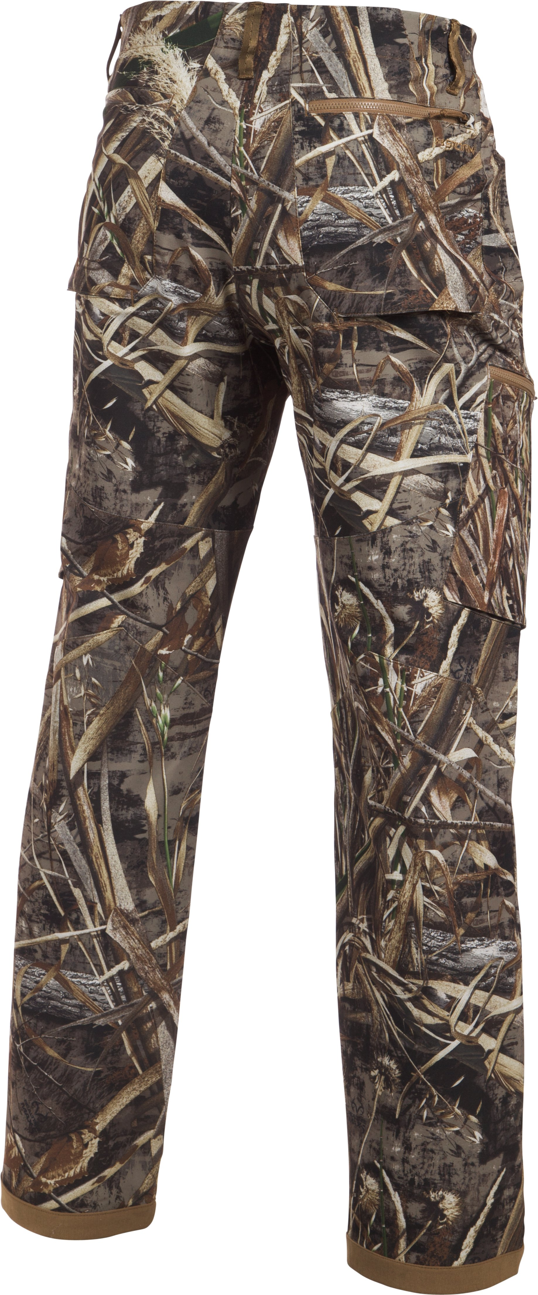 Men's UA Deadload Camo Field Pants, REALTREE MAX 5,