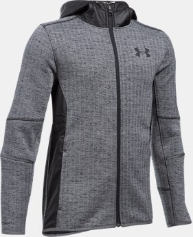 Boys' UA Swacket FZ LIMITED TIME OFFER 4 Colors $74.99