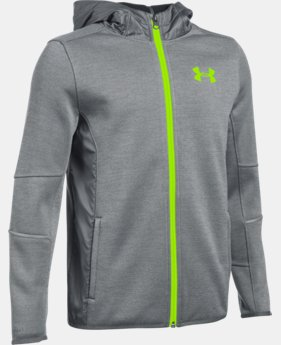 Boys' UA Swacket FZ  2  Colors Available $74.99