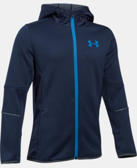 Best Seller Boys' UA Swacket FZ  2 Colors $99.99