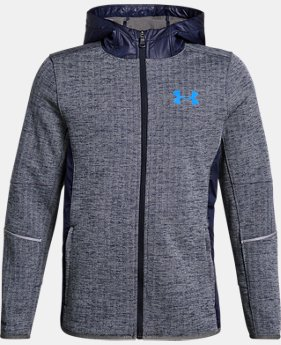 Boys' UA Swacket FZ  1  Color Available $74.99